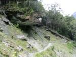 Falling Rock Hazard