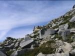 Lead Hills climbing